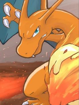 Charizard Fire Poke Wallpaper screenshot 4