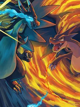 Charizard Fire Poke Wallpaper screenshot 5