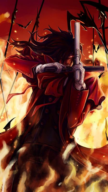 Alucard hellsing wallpaper anime for android apk download - Anime hellsing wallpaper ...