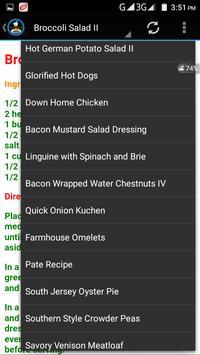 Bacon Recipes B4 screenshot 4