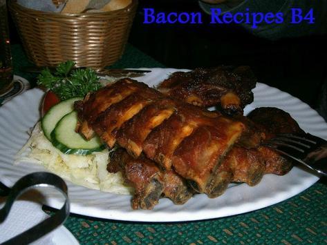 Bacon Recipes B4 poster