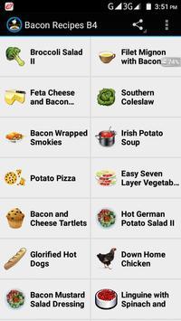 Bacon Recipes B4 screenshot 1