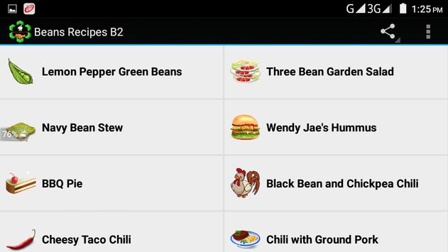 Beans Recipes B2 screenshot 5