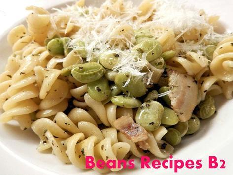 Beans Recipes B2 poster