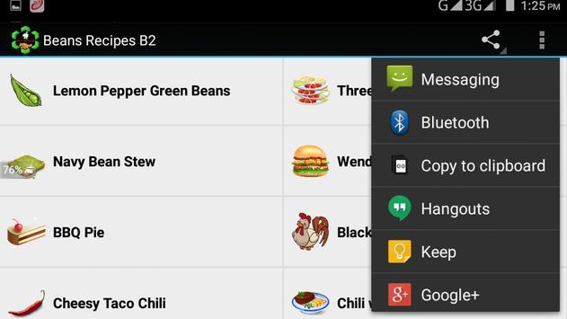Beans Recipes B2 screenshot 13