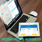 Outsourcing Business icon