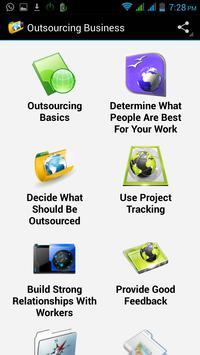 Outsourcing Business apk screenshot