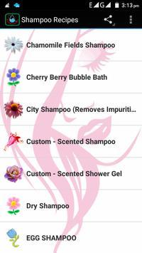 Shampoo Recipes screenshot 9