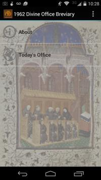 1962 Divine Office Breviary poster