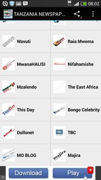 TANZANIA NEWSPAPERS apk screenshot