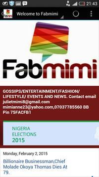 FabmimiBlog apk screenshot