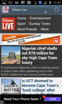 SOUTH AFRICA NEWS screenshot 1