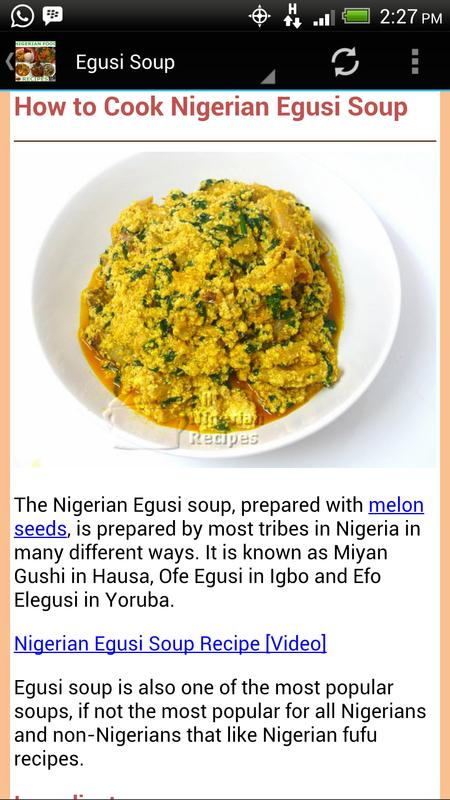 Nigerian food recipes apk download free health fitness app for nigerian food recipes apk screenshot forumfinder Images