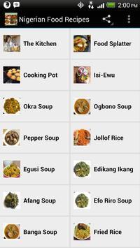 Nigerian food recipes apk download free health fitness app for nigerian food recipes poster forumfinder Images