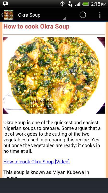 Nigerian food recipes apk download free health fitness app for nigerian food recipes apk screenshot forumfinder Gallery