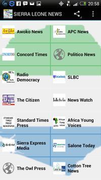 Sierra Leone News poster
