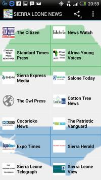 Sierra Leone News apk screenshot