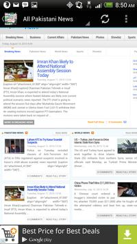 Pakistan News - پاکستان نیوز screenshot 20