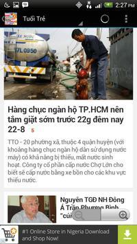 Tin tức Việt Nam apk screenshot