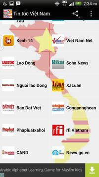 Tin tức Việt Nam screenshot 1