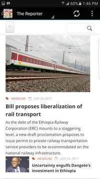 Ethiopia News screenshot 2