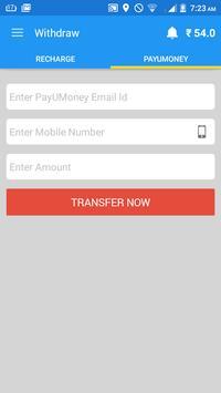 Free PAYUMONEY cash apk screenshot