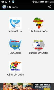 UN Jobs Search poster