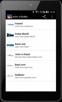 Dubai Jobs screenshot 4