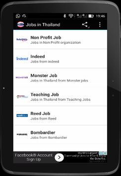 Jobs in Thailand screenshot 4