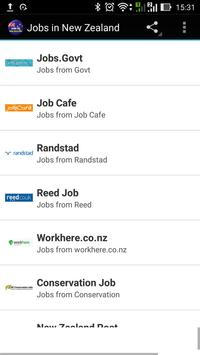 Jobs in New Zealand poster