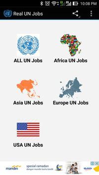 Real UN Jobs poster