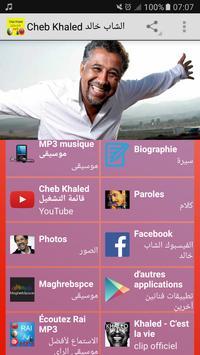 Cheb Khaled الشاب خالد MP3 poster