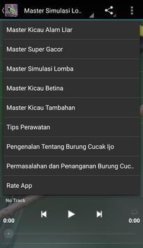 Master Kicau Cucak Ijo screenshot 3