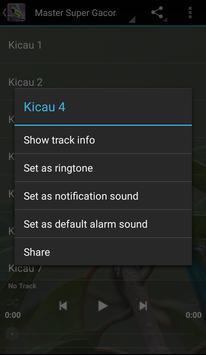 Master Kicau Cucak Ijo screenshot 2