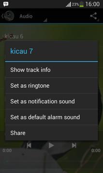 Masteran Kicau Kacer apk screenshot