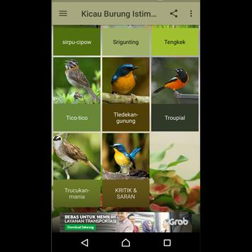 Kicau Burung Istimewa apk screenshot