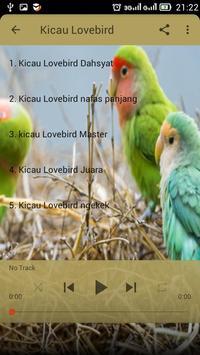 Kicau Lovebird Master apk screenshot