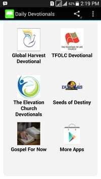 Daily Devotionals apk screenshot