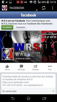 WRS Webradio Soutien apk screenshot