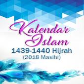 Kalendar 2018M / 1439/40H icon