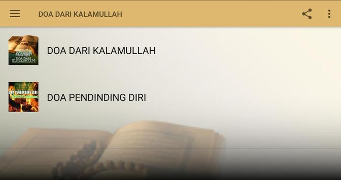 DOA DARI KALAMULLAH screenshot 9