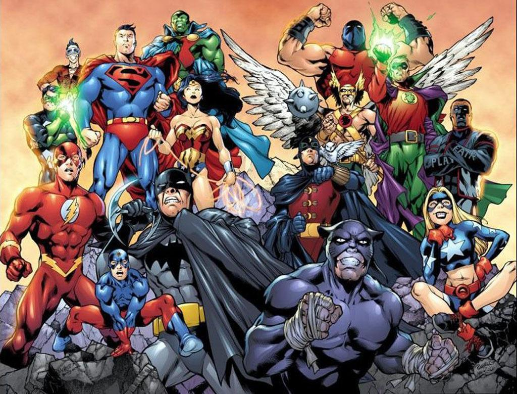 Justice League Wallpapers poster Justice League Wallpapers screenshot 1 ...