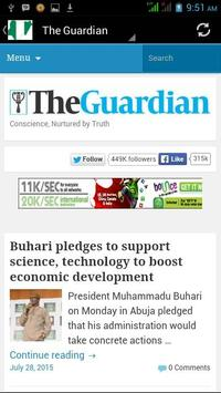 Daily Naija News apk screenshot
