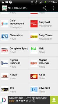 NIGERIA NEWS apk screenshot
