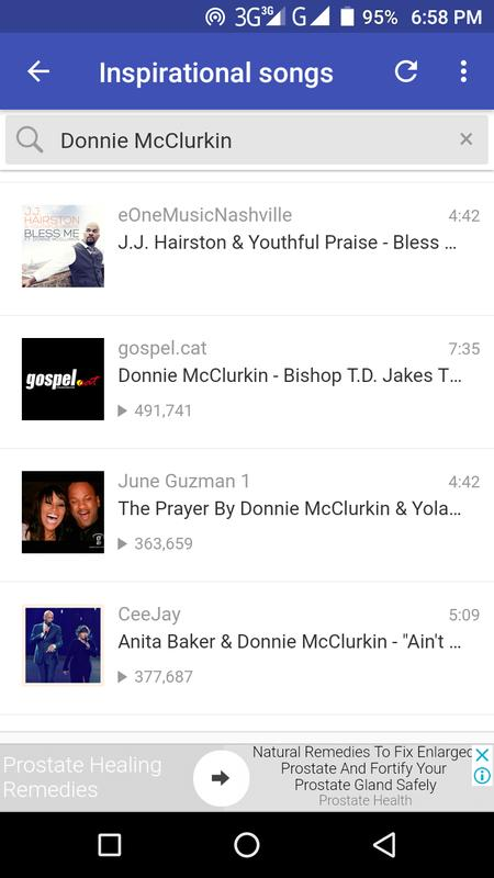 Download music: donnie mcclurkin i need you   kingdomboiz.