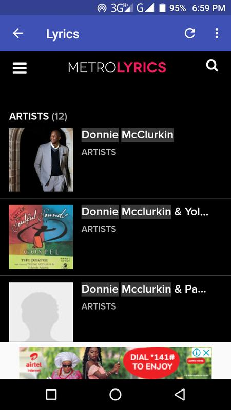 Song mp3 download: donnie mcclurkin – i call you holy   praisezion.