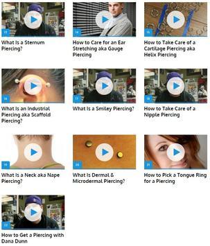 Piercing apk screenshot