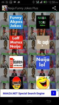 Naija Funny Jokes Plus poster
