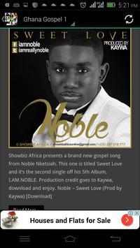 Latest Gospel Music (Africa) apk screenshot