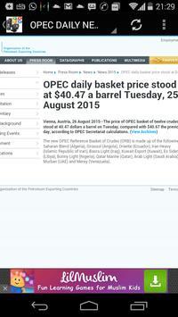 Crude Oil Prices & News apk screenshot